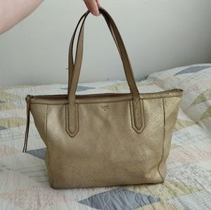 🌼 Fossil Gold Sydney Tote